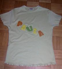 T-shirt com nome