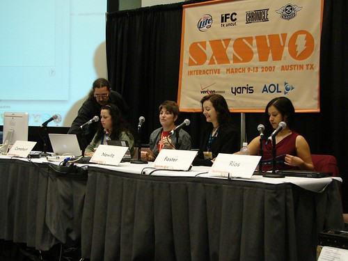 SXSWi Open Source panel