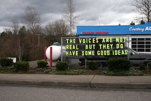The voices are not real but they do have some good ideas