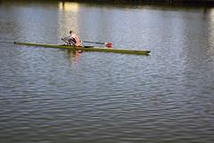 Oarsman (Alexander Marc Eckert) Tags: river germany deutschland stuttgart oar fluss allemagne neckar oarsman sculler oarsmen ruderer stuttgartmnster stuttgartmarch11th2007