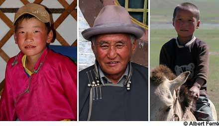 Retratos de Mongolia
