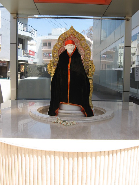 Shirdi Sai Baba on 100' Road, IndiraNagar-II