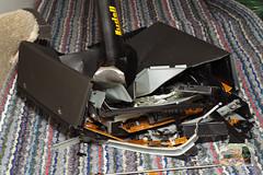 Smashed Remote Control Stock Image - Image: 22435941