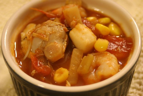 Manhattan Seafood Chowder
