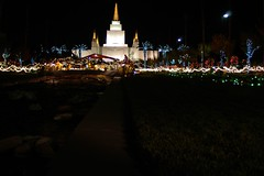 CWGoodroe Photos 152 (cwgoodroe) Tags: christmas longexposure sunset holiday building water fountain architecture night dark temple lights oakland long exposure nightshot religion jesus expose christmaslights bayarea string mormon stillwater ist pentaxistd mormontemple chronicle96hours