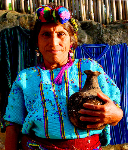 Mayan woman from Nebaj
