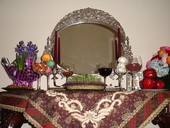 mom's traditional haftsinn (tannazie) Tags: traditional norouz persiannewyear noruz haftsinn samanu senjed