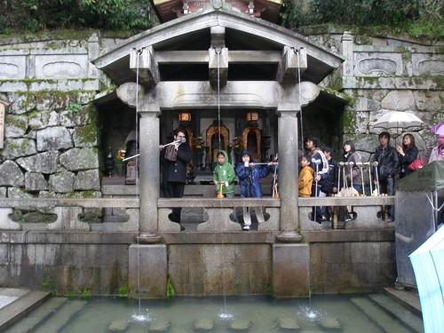 Otowa-no-taki, Kiyomizu Temple