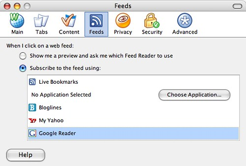 Subscribe with Google Reader in Firefox by default