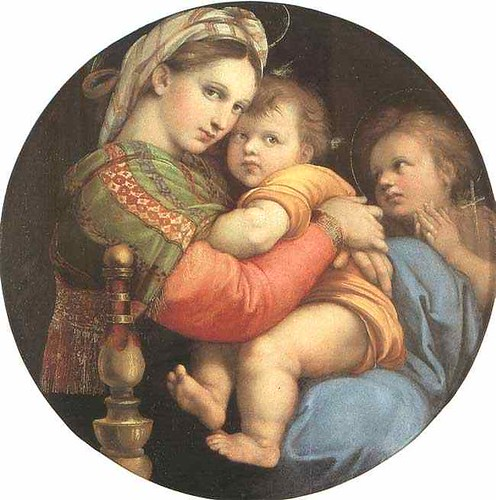 Raphael, The Seated Madonna 1514