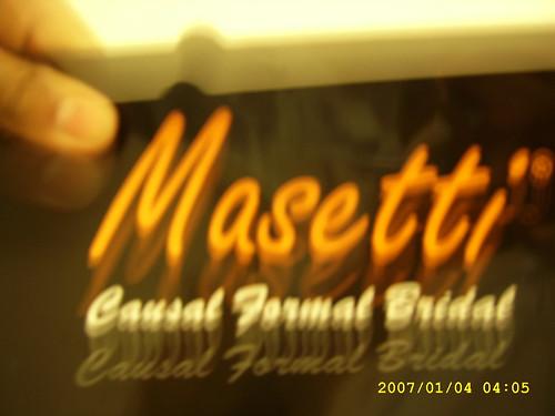 Masetti causal shoes