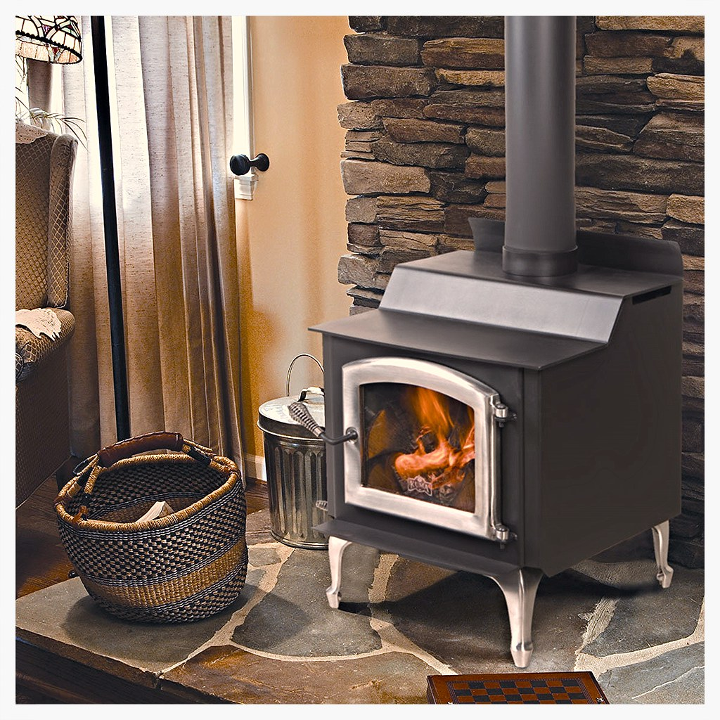 The Tamarack is affordably priced but a solid performer.  It features non-catalytic technology with a single air control for ease of use, and a good burn time for a small stove.