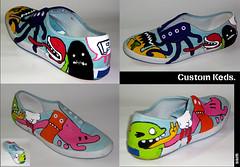 Custom KEDS (Sick Sad M!kE) Tags: art illustration painting sneakers custom keds