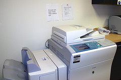 Do Not Turn The Copier Off