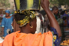 MAL-Djenne0601-69-OR (anthonyasael) Tags: africa blue people orange black colors hat scarf work necklace bucket workers women colorful commerce colours basket dress market head sale crowd earring culture pedestrian jewelry basin full commercial production products local colourful persons mali tribe sell selling merchant carry plaits jewel traditionaldress djenne sellers transporting plait crowdy localfood boubou plasticbucket asael mondaymarket plaitedhair weeklymarket africantraditionnalclothes africanboubou carryonthehead headcarryinginafrica headtransporting localclothes localdresses localproducts carryontheback bigbasket anthonyasael