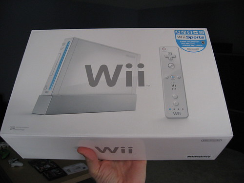 Got a Wii today!