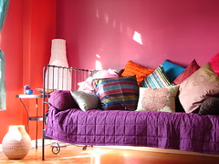 my room (Adventuress Heart) Tags: love project fun warm contemporary room indian pillows exotic morocco pottery moroccan   sancuary