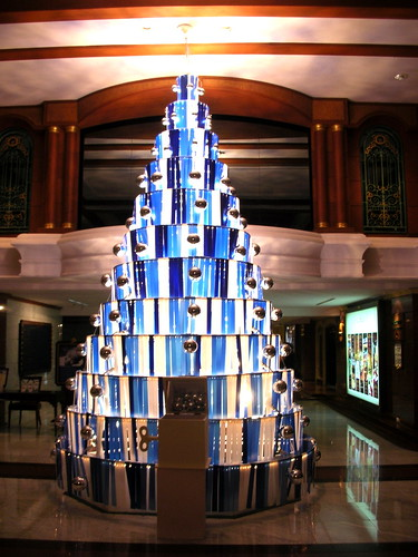 Christmas Tree at Imperial Queen's Park Hotel Bangkok, Thailand