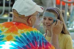 Face Painting At Etobicoke Mardi Gras
