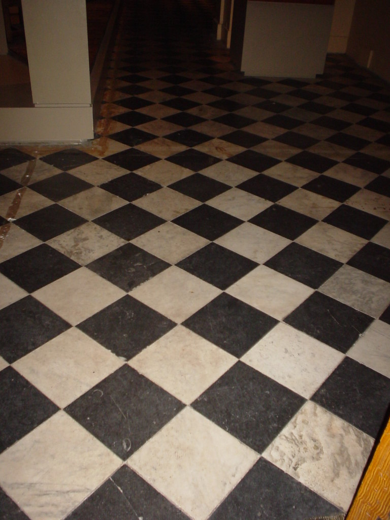 Bamboo flooring durability ask home design for Checkered laminate flooring