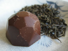 Jasmine Tea Chocolate Truffles
