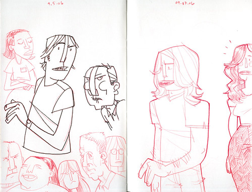sketchdump: more people