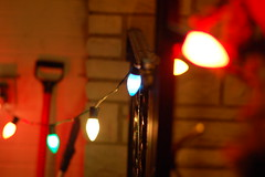 String of lights (lowlight168) Tags: christmas 50mm lights nikon string dslr lowlight168