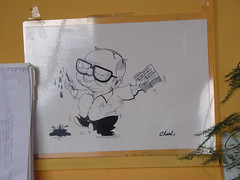 Ruskin Bond's Drawing