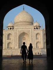 G&D love (G&D Photographer) Tags: shadow india love para taj mahal indie gd duch mio rce cienie romantyczne