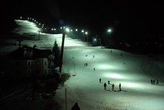 Pista illuminata di Bormio (Luigi Rosa) Tags: italy ski italia pista lombardia slope sci valtellina sondrio bormio mondiali