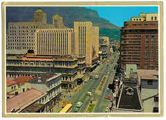 Adderly Street, 1966 (mallix) Tags: old holiday vintage southafrica postcard memories 1966 memory era change 1970 1960s worldcup 1970s apartheid 2010 1960 soccerworldcup adderlystreet worldcup2010 stationcapetown fifa2010