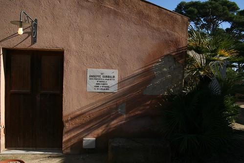 Giuseppe Garibaldi slept here!