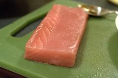 Sashimi grade tuna