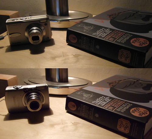Canon SD700 IS @ ISO 400 vs Fujifilm F30 @ ISO 800