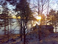 110120071440 (Nystin) Tags: sea snow water suomi finland helsinki lumi meri sauna vesi vuosaari n73 merirastila abigfave rantapuisto