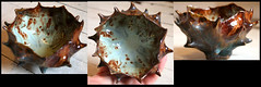 Organic Ceramic Pinch Pot, Glazed Stoneware (corimorenberg.com) Tags: art classic botanical ceramics handmade craft clay pottery organic glazed stoneware pinchpot