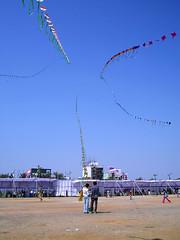 P1152497 (Akhilesh Mathur) Tags: india kites sankranti peoplesplaza