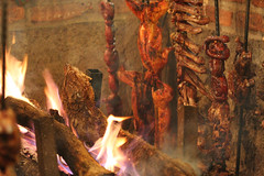 Meat Pit at Arandas Fair