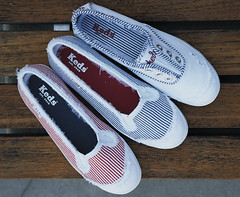 Keds Champion Railroad (keds_1916) Tags: shoes champion sneakers mischa barton distressed keds skimmers kedette