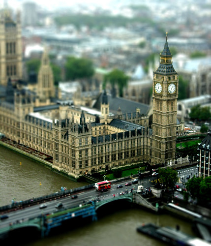Big Ben Tilt-shift by Suviko.