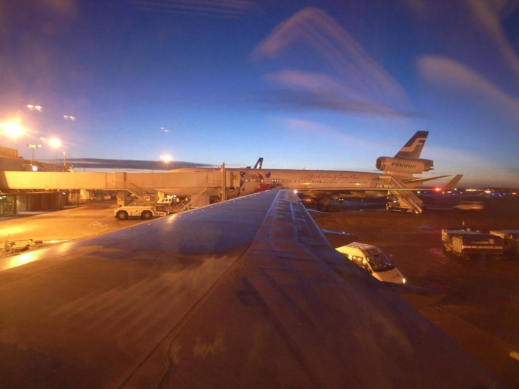 Finnair MD-11 - Official airline of Santa Claus