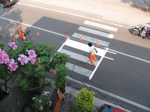 Crosswalk painting 1