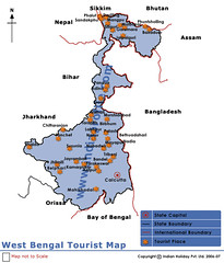 westbengal-tourist-map