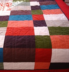 back of Ice Pops quilt