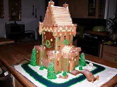 Gingerbread house (ineedathis) Tags: christmas house miniatures baking decorating gingerbreadhouse merrychristmas 157 gumpastechristmas