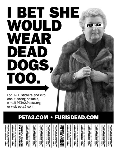 PETA - PETA2 (Fur Hag Tear Sheet)