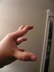 Weird fingers