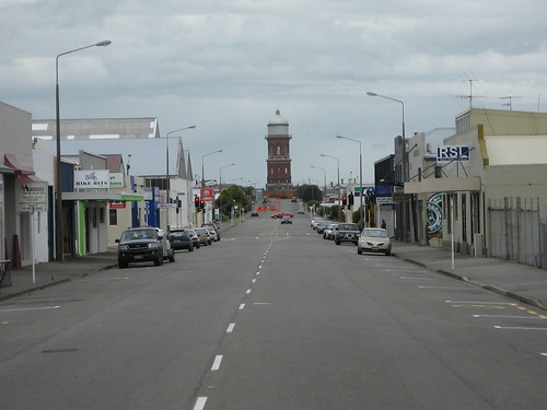 Invercargill is not a hotbed of activity