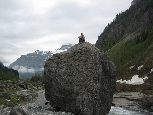 I climbed.