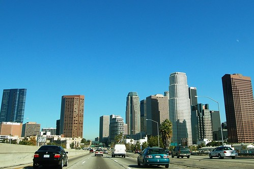 Driving: 110 North Through Downtown LA